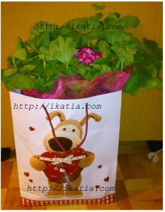 цветок - подарок
