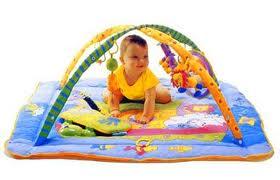 коврик и малыш